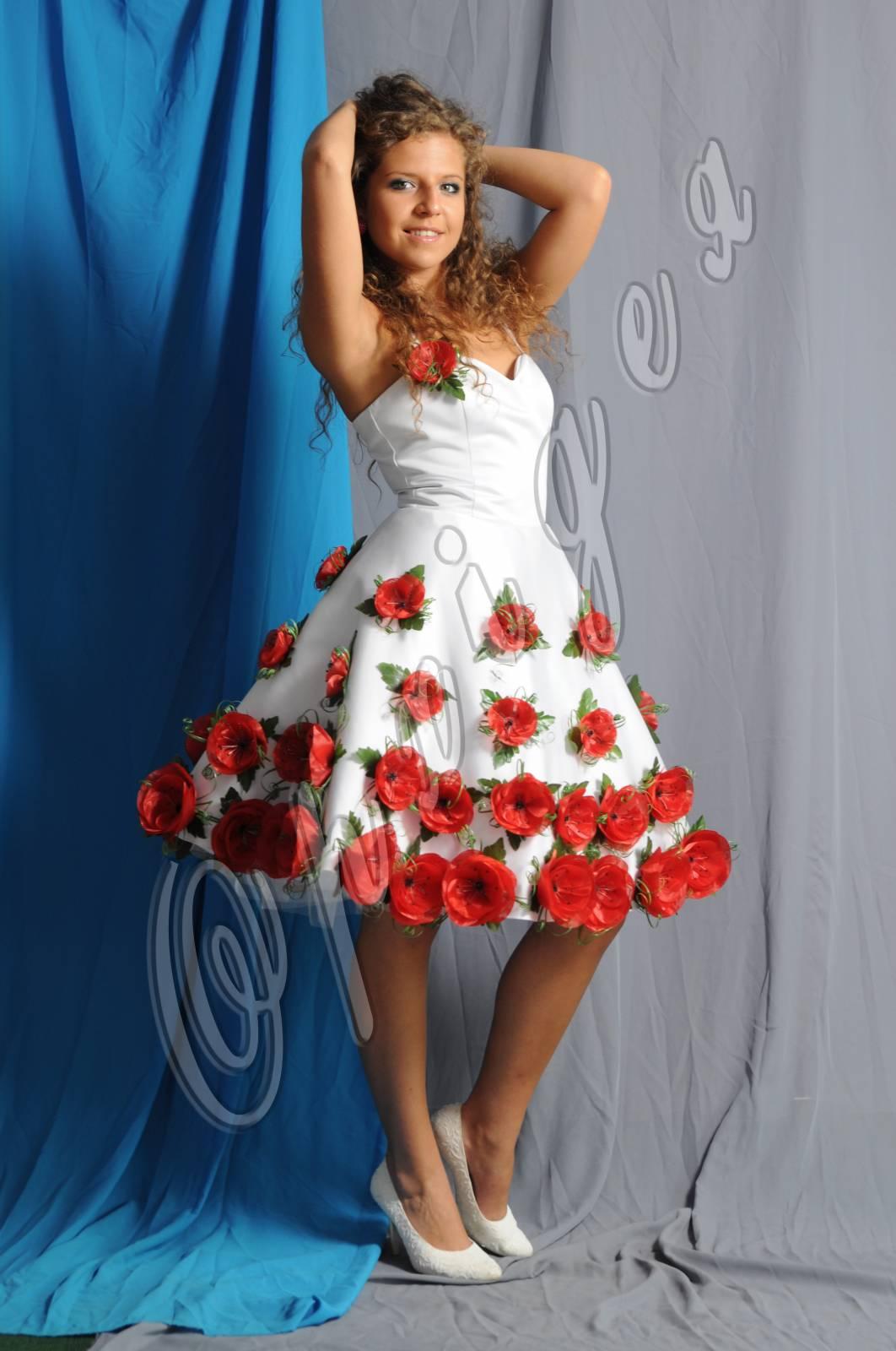 ПАРАСОЛЬКА - Вишиті плаття - Каталог товарів - Орхідея ff55e89e94344